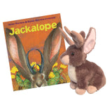 Jackalope by Janet Stevens Book and Plush Gift Set for Children