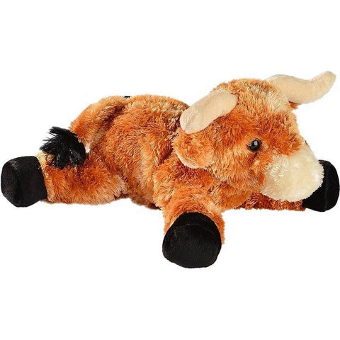 "Texas Longhorn Plush Bull 12"" Stuffed Animal"