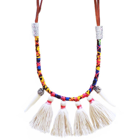 Marrakech Tassel Necklace
