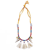 Maasai Tassel Necklace