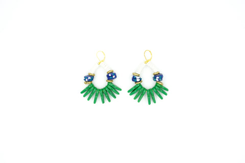 Betty earrings by Empire State Finery