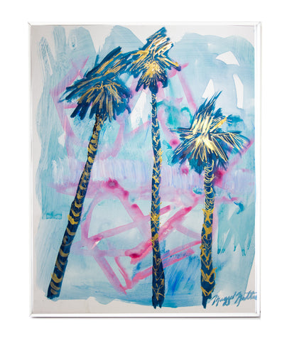 Lazy Palms I - Maggie Mathews
