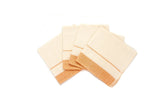 Orange + White Striped Napkins, Set of 4