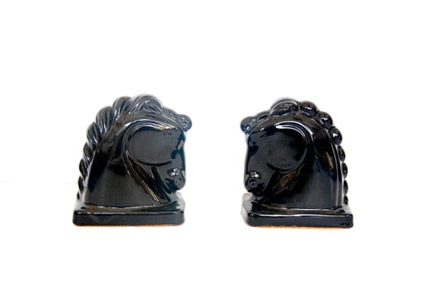 Ceramic Horse Bookends