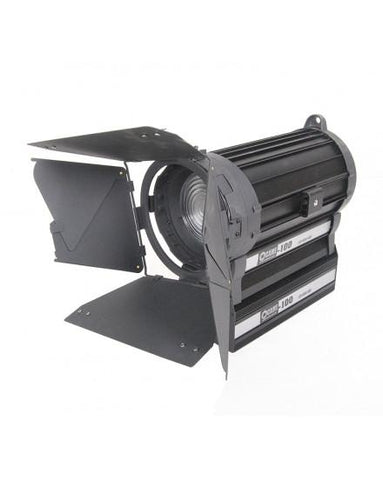 100W LED Fresnel Light Zoom DMX Focusable Dimmable Studio Video