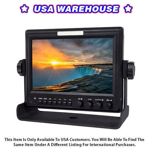 "CAME-TV M7, Pro IPS LCD 7"" Monitor HDMI In SDI Out With Scopes - USA Warehouse"