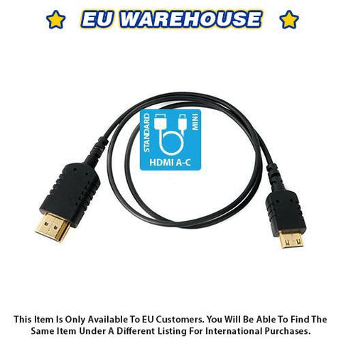 CAME-TV 2 Foot Ultra-Thin and Flexible HDMI Cable AC - European Warehouse