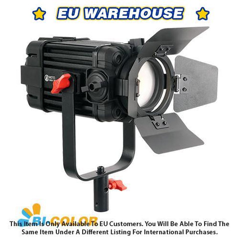 1 Pc CAME-TV Boltzen 60w Fresnel Fanless Focusable LED Bi-Color - European Warehouse