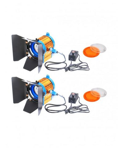 Bi-Color 2XCD-1000WS LED Spot Light Spotlight Video Studio Light