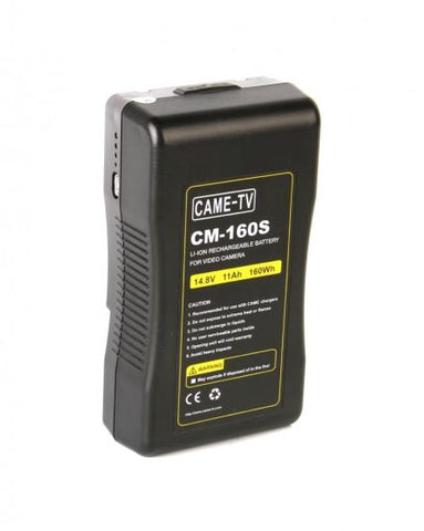 CAME-TV 160Wh Battery Sony V Mount For Camera Camcorder Battery