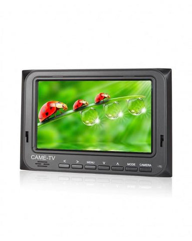 "CAME-TV 5"" 800*480 HDMI AV Field Monitor W/ Peaking Focus Assist"