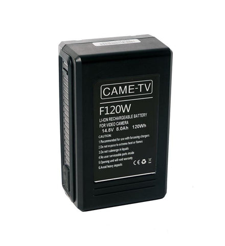 CAME-TV Compact V-Mount Li-Ion Battery 120Wh