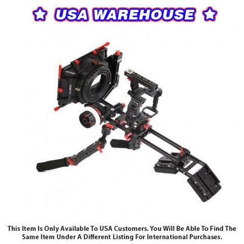 CAME-TV Sony A7S Rigs W/ Hand Grip Mattebox Follow Focus - USA Warehouse