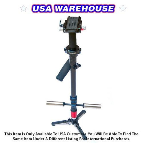 New CAME-200 Multi-Function Stabilizer Monopod Tripod with Removable Legs - USA Warehouse