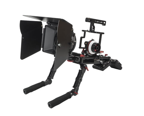 CAME-TV Guardian Cage For GH5 GH4 A7S Camera Rig With Mattebox Follow Focus Z-GH5-5