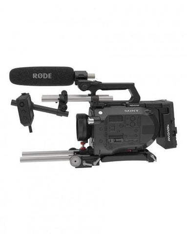 Movcam Rigs For Sony FS7 15mm Rod System Base Kit