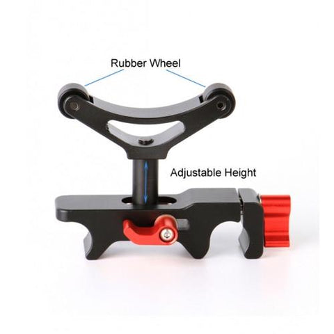 15mm Lens Support Adjustable Height to Fit Different Camera Lens