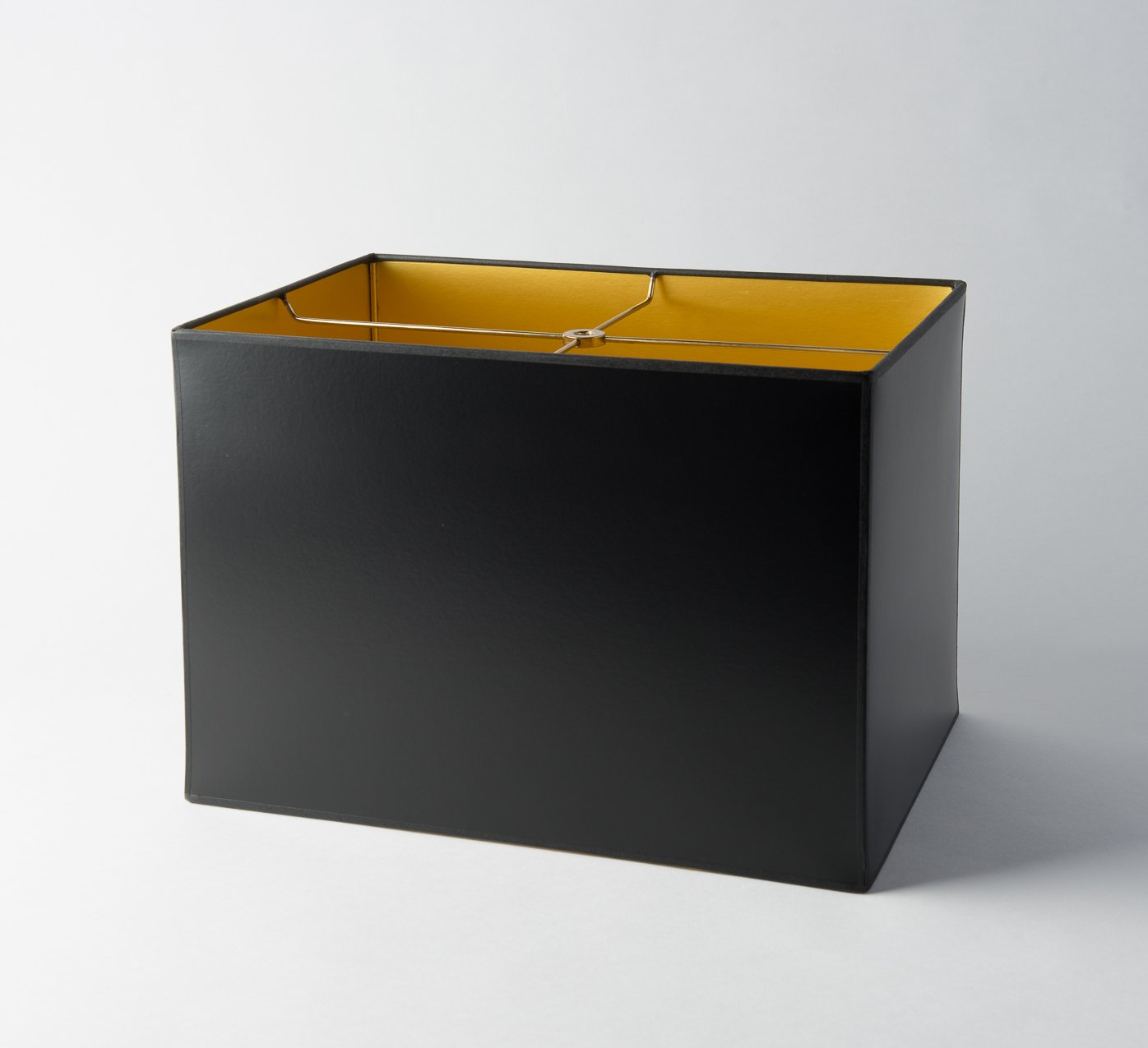 Opaque Paper Box Rectangle Black/Gold