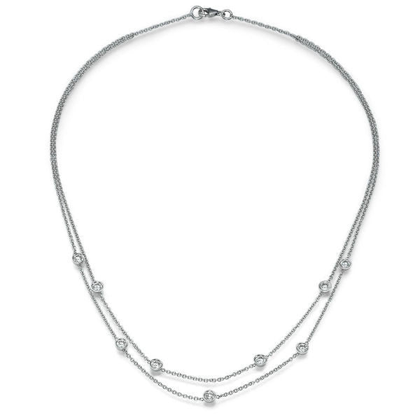 Diamond Necklaces 18K - Diamonds Mine