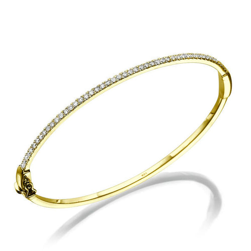 Diamond Bracelet 14k Yellow gold - Diamonds Mine