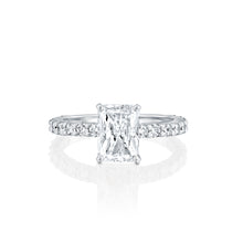 "Load image into Gallery viewer, 0.5 Carat 14K Yellow Gold Diamond ""Nicole"" Engagement Ring"