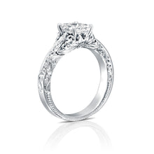"Load image into Gallery viewer, 0.9 Carat 14K White Gold Diamond ""Kira"" Engagement Ring"
