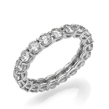 Load image into Gallery viewer, Elegant Diamond Wedding Ring - Diamonds Mine