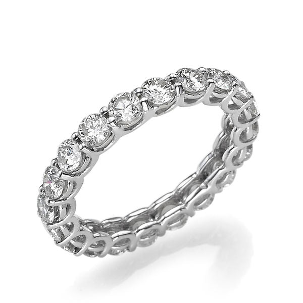 Elegant Diamond Wedding Ring - Diamonds Mine