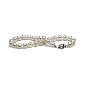 6-7MM Freshwater Pearl Bracelet - Diamonds Mine