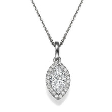 Load image into Gallery viewer, Diamond Pendants 14K with diamonds - Diamonds Mine