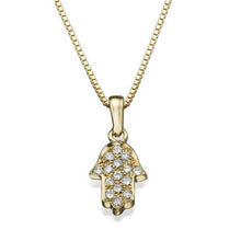 Load image into Gallery viewer, 0.3 Carat 14k Yellow Gold Diamond Star Pendant - Diamonds Mine