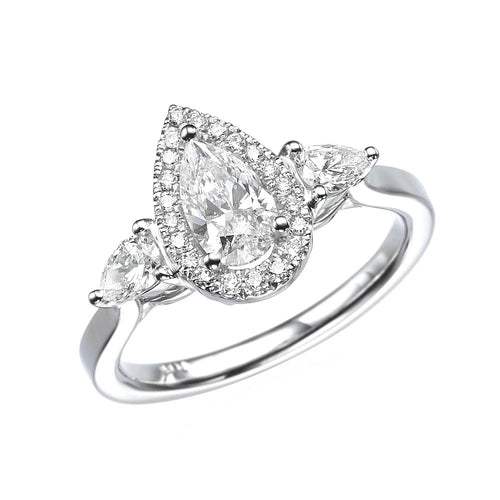 1.5 Carat 14K White Gold Diamond