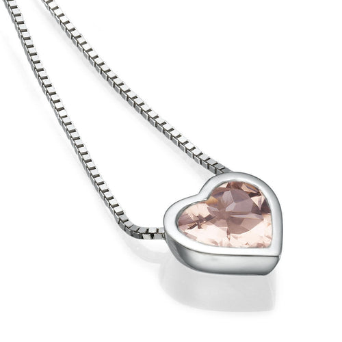 Morganite Pendants 14K - Diamonds Mine