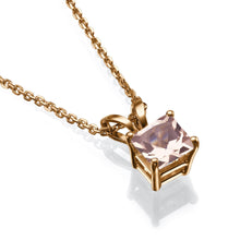 Load image into Gallery viewer, Morganite Pendants 14K - Diamonds Mine