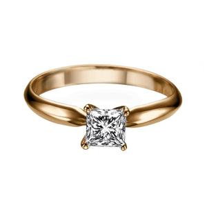 "0.5 Carat 14K Yellow Gold Diamond ""Kimberly"" Engagement Ring"