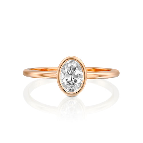 0.75 Carat 14K Rose Gold Diamond