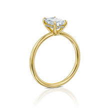 "Load image into Gallery viewer, 1 Carat 14K Rose Gold Diamond ""Catherine"" Engagement Ring"