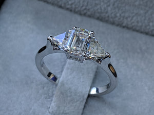"1.5 Carat 14K Rose Gold Diamond ""Monica"" Engagement Ring"