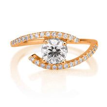 "Load image into Gallery viewer, 0.65 TCW 14K Yellow Gold Diamond ""Penelope"" Engagement Ring"
