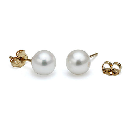 14K Gold Pearl Earring | Diamonds Mine