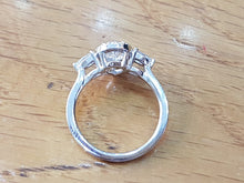 "Load image into Gallery viewer, 1.5 TCW 14K White Gold ""Chloe"" Engagement Ring"
