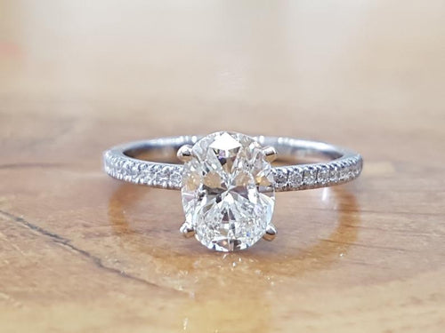 1.8 TCW 14K White Gold Diamond