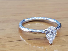 "Load image into Gallery viewer, 1 Carat 14K White Gold Diamond ""Nella"" Engagement Ring"