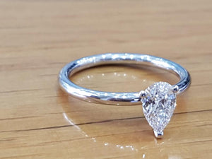 "1 Carat 14K White Gold Diamond ""Nella"" Engagement Ring"