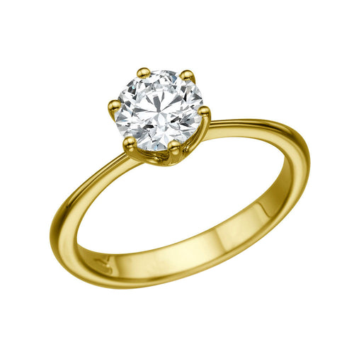 1.3 Carat 14K Yellow Gold Diamond