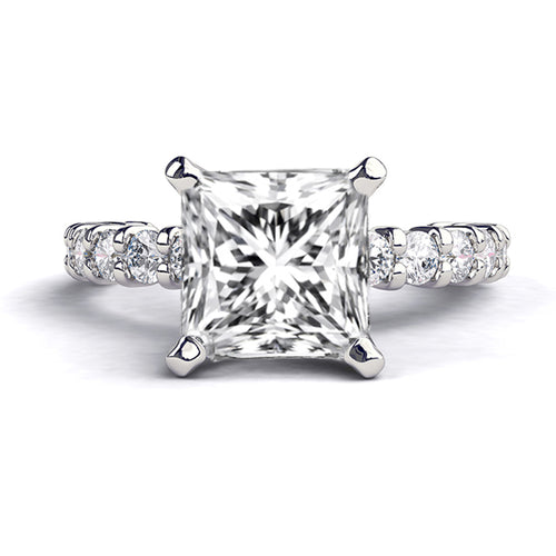 2.4 Carat 14K White Gold Diamond