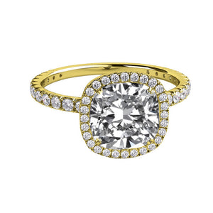 "2 Carat 14K White Gold Diamond ""Madison"" Engagement Ring"