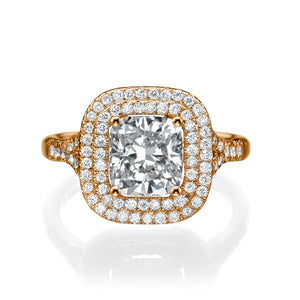 "2.2 Carat 14K White Gold Diamond ""Sienna"" Engagement Ring 