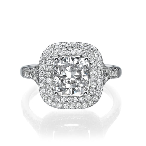 2.2 Carat 14K White Gold Diamond