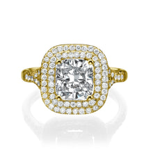 "Load image into Gallery viewer, 2.2 Carat 14K White Gold Diamond ""Sienna"" Engagement Ring 